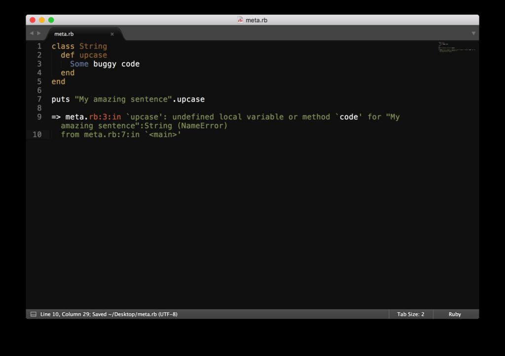 examples of metaprogramming