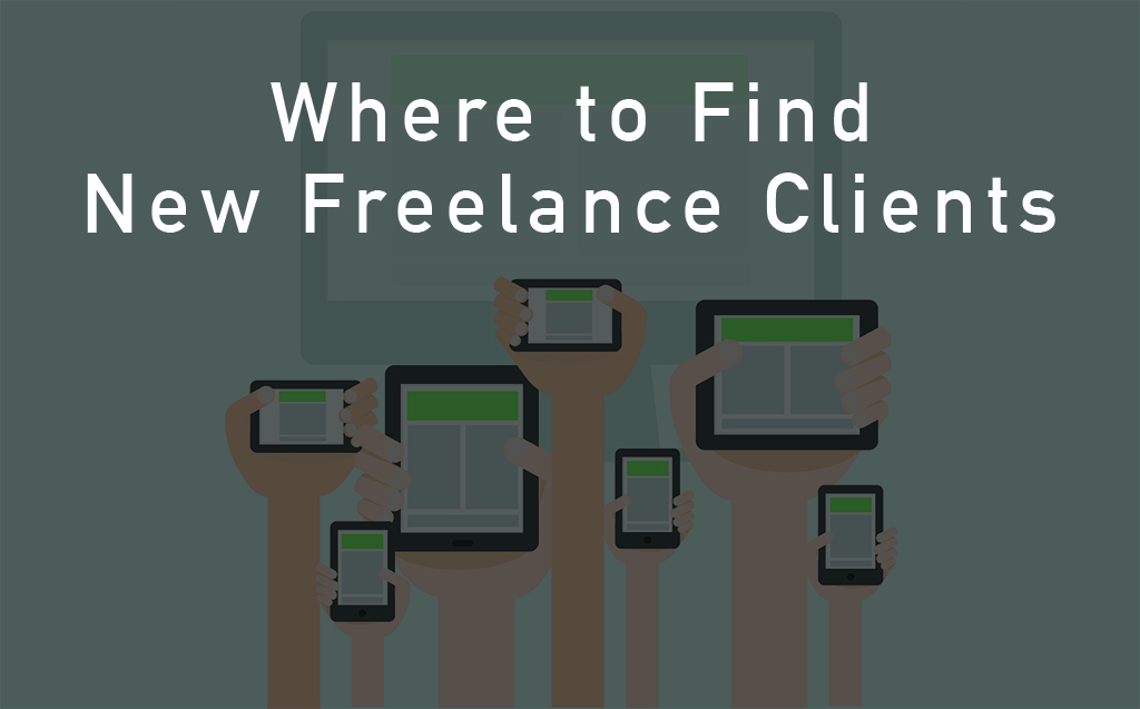 getting new clients as a freelancer