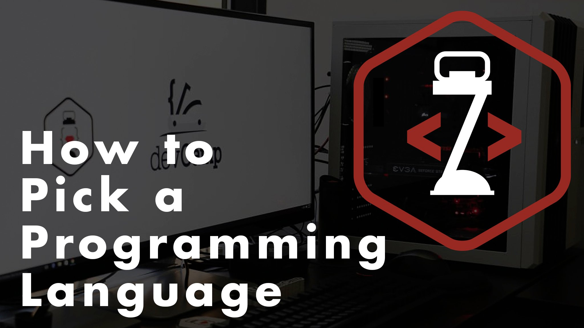 How to Pick a Programming Language