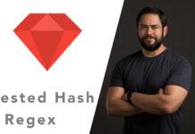 nested hash regex