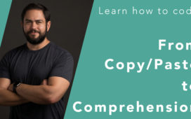 copy paste to comprehension